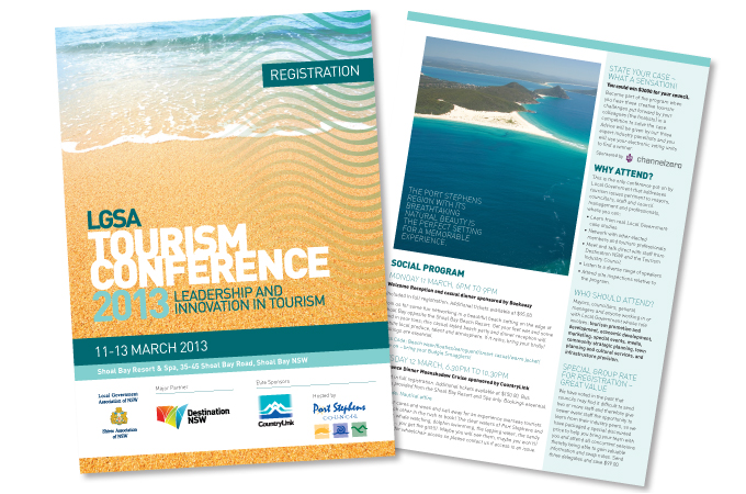 LGSA Tourism Conference brochure