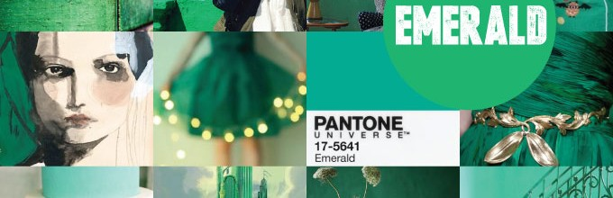 Colour crush: Emerald